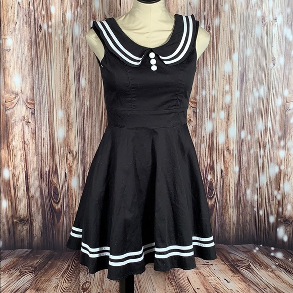 Hell Bunny Dresses & Skirts - Hell Bunny Vixen Pinup Rockabilly Dress S